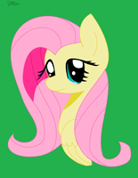 Fluttershy Portrait by 1132002GABY