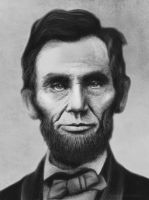 Abraham Lincoln by ThreshTheSky