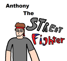 Anthony the street fighter by blackevil915