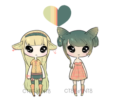 Completed Palette Adopts by TeaLattes