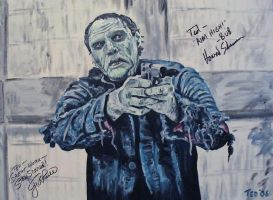 Bub, Day of the Dead, Signed by tdastick