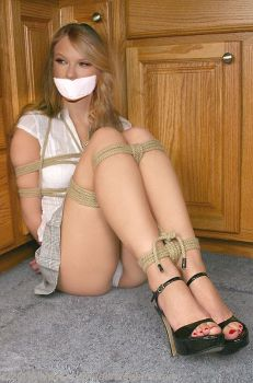 Taylor Swift Bound and Gagged by abbastein