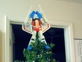 StarAngel Tree Topper by horsetechie