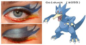 Pokemakeup 055 Golduck by nazzara