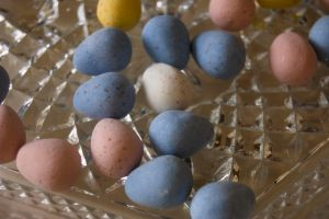 Spring Easter Eggs Chocolate002 by amethystmstock