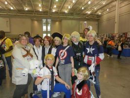 Nekocon 2012 Hetalia Group Cosplay by caseygracy1234