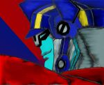 optimus prime! by iloveTFA333