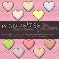 10 Muestras Color Pastel by PrettyLadybug093