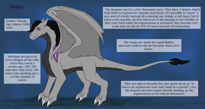 Marsy the dragoness ref 3.0 by RusCSI