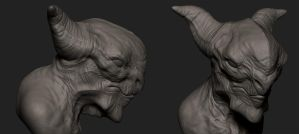 ZBrush Creature 03 by x-ste-x