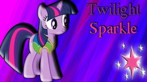 Twilight Sparkle Wallpaper by schocky