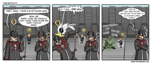 FFXIV Comic: Mob Mentality by bchart