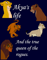 Akys'a life cover by whitetigerdelight