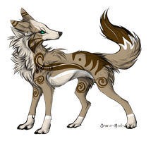 The Spirit Wolf Adoptable by RavenWingx