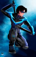 Nightwing by Radiant-Grey