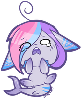 Just a little crysharkie by LoreHoshiko