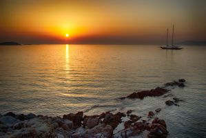 Mykonos Sunset by micahgoulart