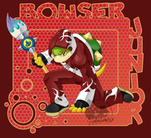 Bowser Jr. by slimthrowed