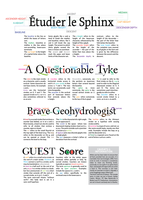 Typeface Anatomy: A Brief by fiveless