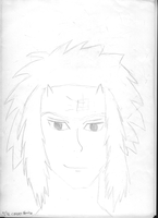 Jiraiya Sketch by TheCreepyNovice