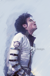 Michael the king of pop by AdemDesign