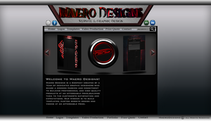 MaeroDesigns Test Site by MaeroDesigns