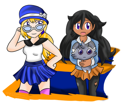 Serena and Emma ~Commission~ by Xero-J