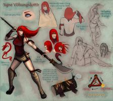 Signe character ref by Serpentwined