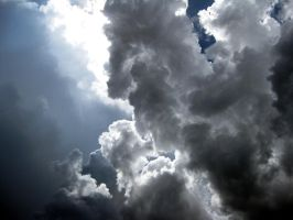 Sculptural Storm Clouds by Lasercrew420