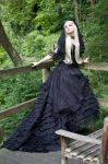 Black Bride - Stock by MariaAmanda