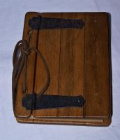 object_ wood book _closed by Aimelle-Stock