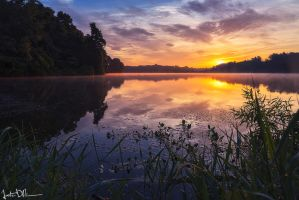 Soft Morning Sunrise by JustinDeRosa