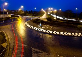 Dundee Roundabout by BusterBrownBB