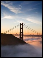 Golden Gate Sunrise 10001 by themobius