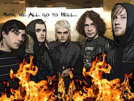 MCR - Mama wallpaper by Krisza