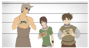 Arya, Gendry and Hot Pie - Most Wanted by RABunzai