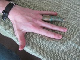 Adam and his Finger 5.8.11 by Artsee1