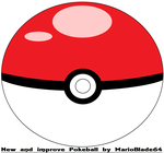 New and improve Pokeball by MarioBlade64