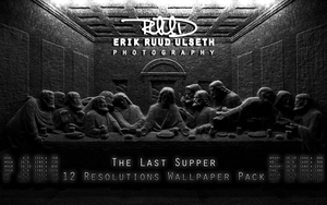The Last Supper 12 Resolutions Wallpaper Pack by RuudPhotography