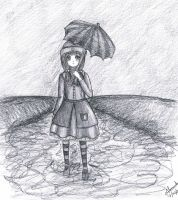 Even if it rains... by Niss-Ana