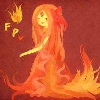 Flame princess by RiceDumplings