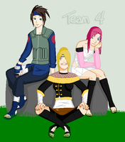 Team 4. by DazzleRahzel