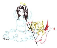 Angel and Devil? by Rucci