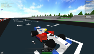 Roblox: Ford Racing team by blackevil915