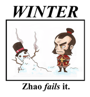 Zhao Fails at Winter by Booter-Freak