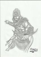 Assassin's Creed Revelations: Ezio by hardik9