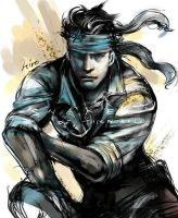 Solid Snake by HiroUsuda