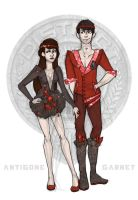 The Hunger Games - District 1 Tributes by Windnstorm