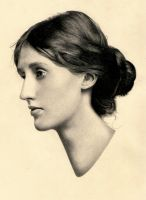 Virginia Woolf Portrait by snqalien