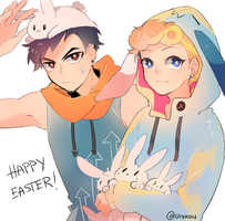 gimme all ze bunnies by unkou